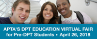 APTA's DPT Education Virtual Fair for Pre-DPT Students