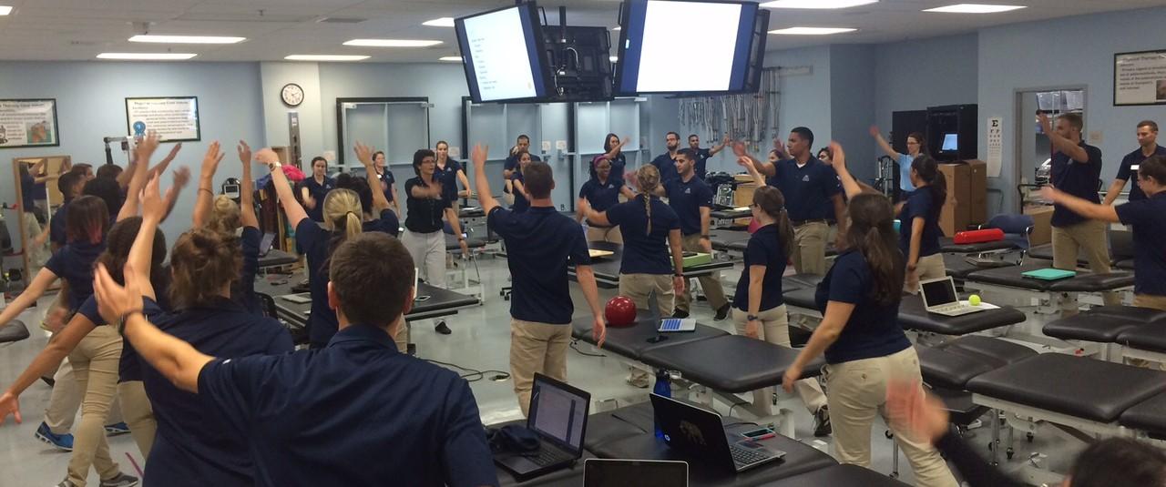 physical therapy program nova southeastern university